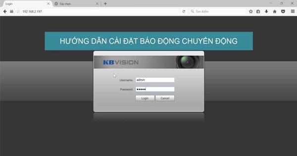 Hướng dẫn kích hoạt chức năng Push Alarm camera Kbvision trên KBVIEW Pro