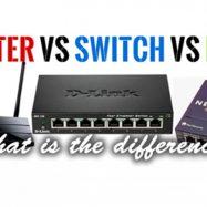 Phân biệt Router, Switch và Hub (Mạng máy tính)